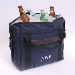 Personalized Soft Blue Cooler Bag