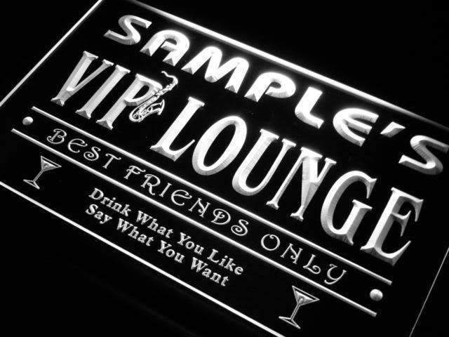 Personalized VIP Lounge LED Neon Light Sign - Way Up Gifts