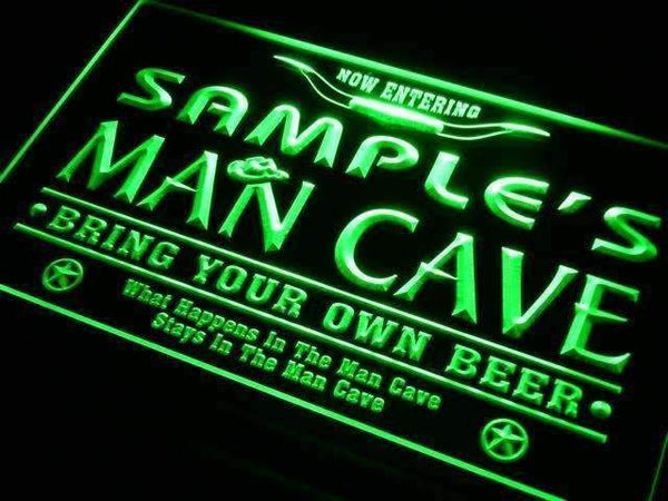 Personalized Western Man Cave Neon Sign (LED)-Way Up Gifts