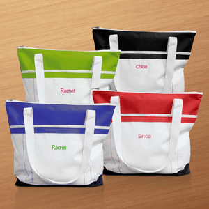 Personalized Women's Gym Tote Bag