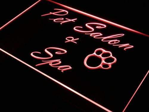 Pet Grooming Salon Spa LED Neon Light Sign - Way Up Gifts