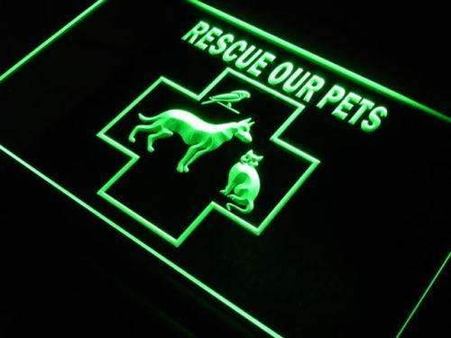 Pet Rescue LED Neon Light Sign - Way Up Gifts