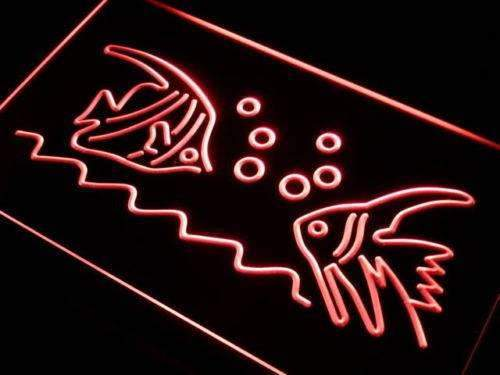 Pet Shop Fish LED Neon Light Sign - Way Up Gifts