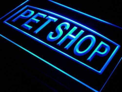 Pet Shop LED Neon Light Sign - Way Up Gifts