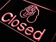Pet Store Dog Shop Closed LED Neon Light Sign