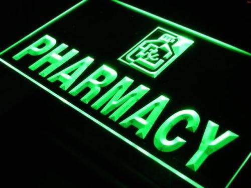 Pharmacy Drug Store LED Neon Light Sign - Way Up Gifts