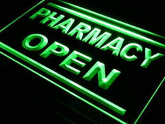 Pharmacy Open LED Neon Light Sign