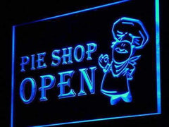 Pie Shop Open LED Neon Light Sign