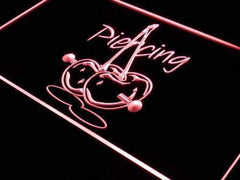 Piercing Cherries Decor LED Neon Light Sign