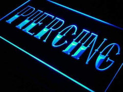 Piercing LED Neon Light Sign