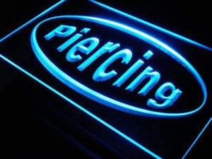 Piercing Shop Lure Neon Sign (LED)-Way Up Gifts
