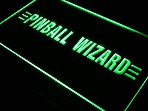 Pinball Wizard LED Neon Light Sign - Way Up Gifts