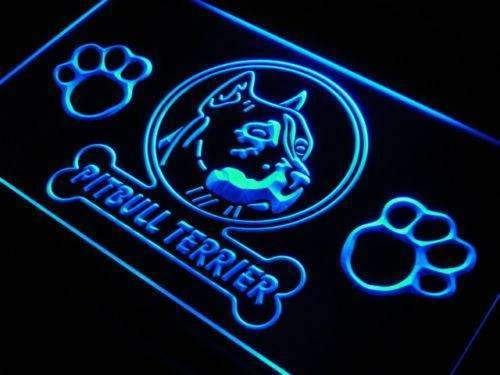 Pitbull Terrier LED Neon Light Sign - Way Up Gifts
