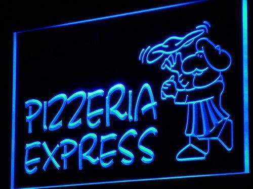 Pizza Pizzeria Express LED Neon Light Sign - Way Up Gifts