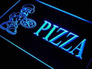 Pizza Shop Lure Neon Sign (LED)-Way Up Gifts