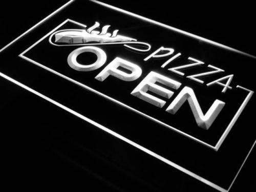 Pizzeria Pizza Open LED Neon Light Sign - Way Up Gifts