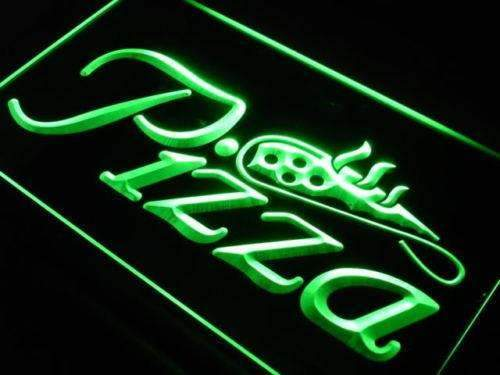 Pizzeria Pizza Shop LED Neon Light Sign - Way Up Gifts