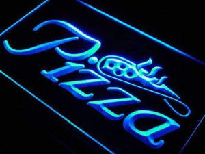 Pizzeria Pizza Shop Neon Sign (LED)-Way Up Gifts