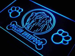 Polish Sheepdog Neon Sign (LED)-Way Up Gifts