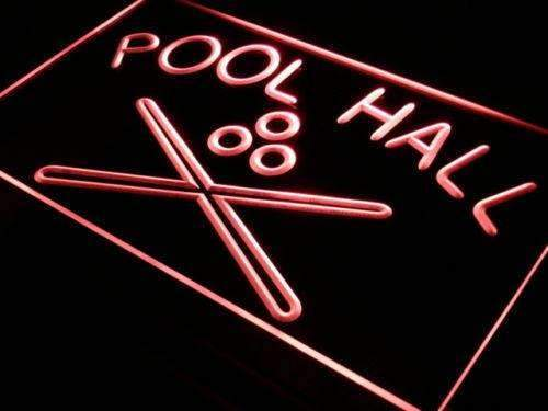 Pool Hall LED Neon Light Sign - Way Up Gifts