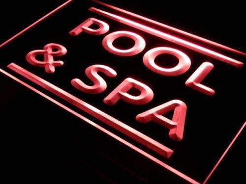 Pool Spa LED Neon Light Sign - Way Up Gifts