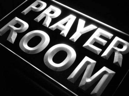 Prayer Room LED Neon Light Sign - Way Up Gifts