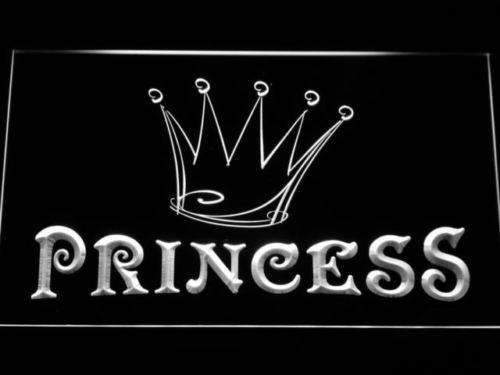 Princess Crown LED Neon Light Sign - Way Up Gifts