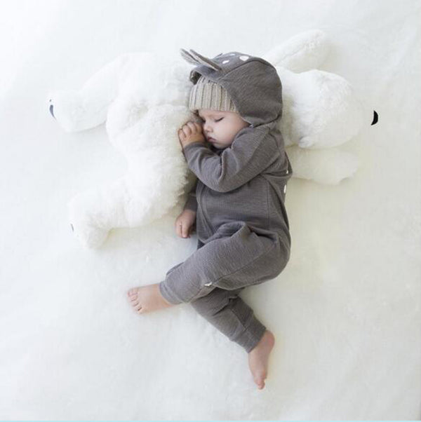 Baby Stuffed Animal Polar Bear Soft Newborn Baby Pillow - Way Up Gifts