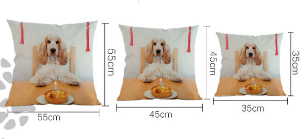 Basset Hound Pillow  Home > Throw Pillows > Dog Throw Pillows - Way Up Gifts