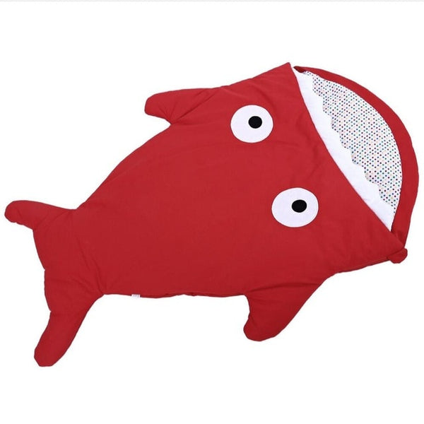 Sea Life Baby Sleeping Bag Red Babies > Accessories > Sleeping Bags & Swaddles > Year Round - Way Up Gifts