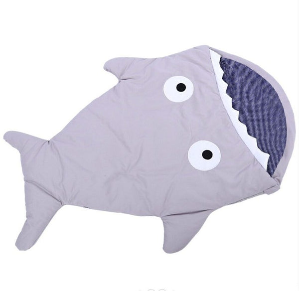 Sea Life Baby Sleeping Bag Gray Babies > Accessories > Sleeping Bags & Swaddles > Year Round - Way Up Gifts