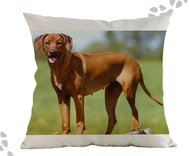 Rhodesian Ridgeback Pillow - Way Up Gifts