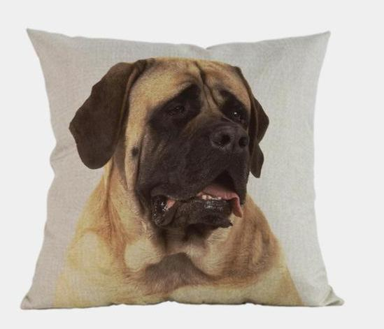 Mastiff Pillow - Way Up Gifts