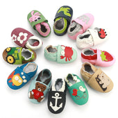 Genuine Leather Skid-Proof Baby Infant Shoes