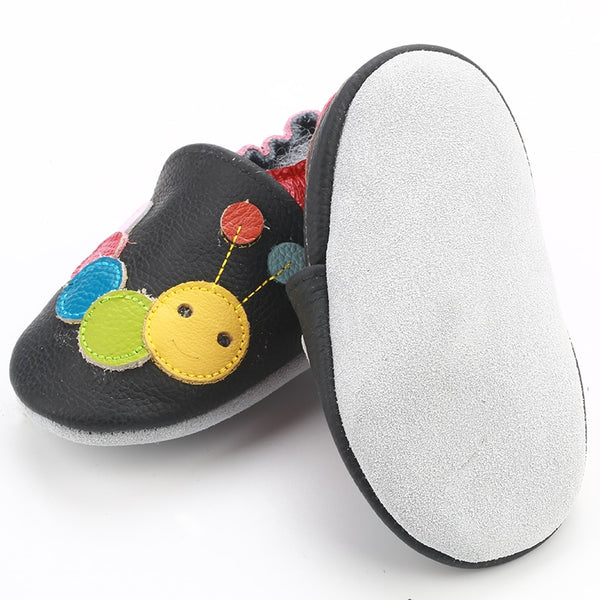 Genuine Leather Skid-Proof Baby Infant Shoes  Babies > Accessories > Shoes - Way Up Gifts