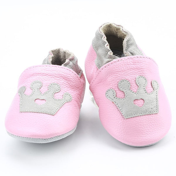Genuine Leather Skid-Proof Baby Infant Shoes Princess / 3 Babies > Accessories > Shoes - Way Up Gifts