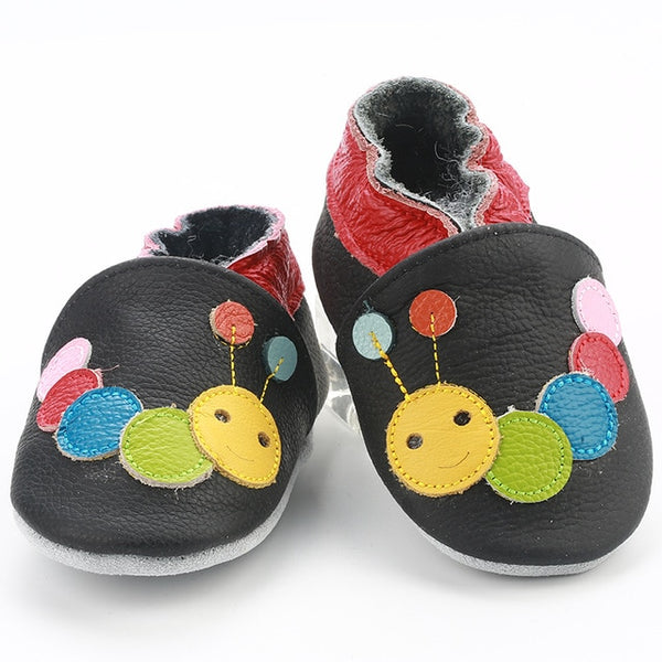 Genuine Leather Skid-Proof Baby Infant Shoes Caterpillar / 3 Babies > Accessories > Shoes - Way Up Gifts