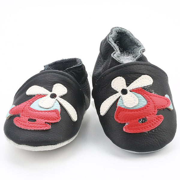 Genuine Leather Skid-Proof Baby Infant Shoes Helicopter / 3 Babies > Accessories > Shoes - Way Up Gifts