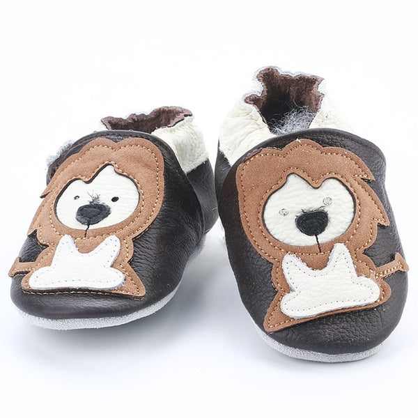Genuine Leather Skid-Proof Baby Infant Shoes Lion / 3 Babies > Accessories > Shoes - Way Up Gifts