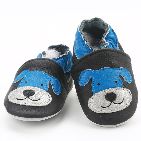 Genuine Leather Skid-Proof Baby Infant Shoes Dog / 6 Babies > Accessories > Shoes - Way Up Gifts
