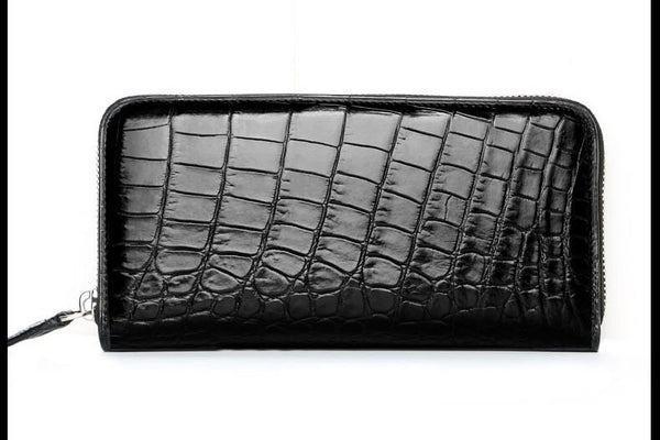 Handmade Premium Crocodile Belly Wallet | Large Card Holder  Men > Accessories > Wallets > Crocodile Wallets - Way Up Gifts