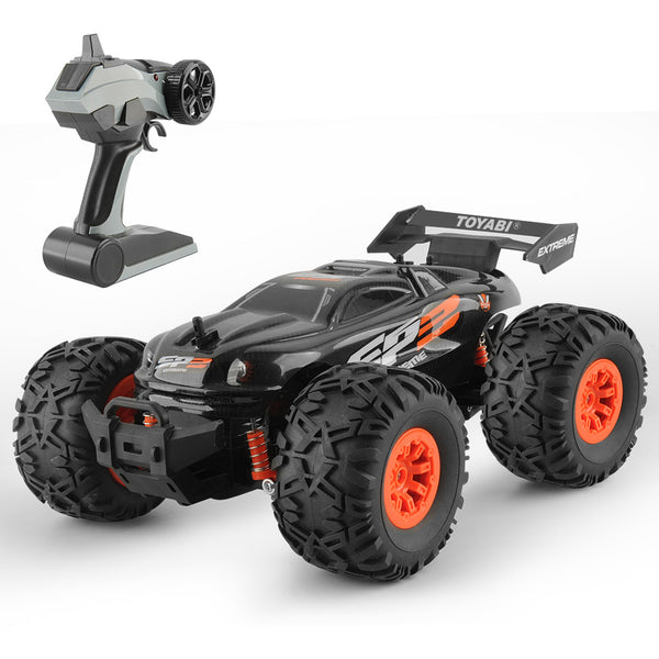 Extreme Monster Truck Off Road RC Car 1:18 Black Kids > RC Electronics > RC Cars - Way Up Gifts