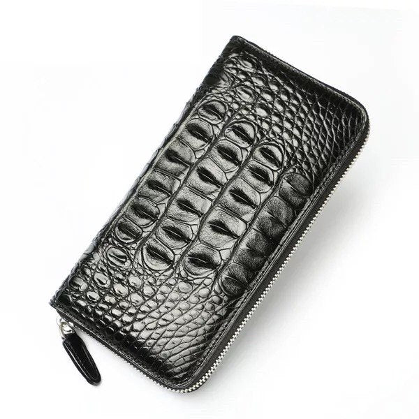 Handmade Luxury Crocodile Wallet | Large Card Holder