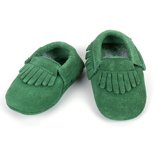 Genuine Leather Skid-Proof Baby Infant Shoes Moccasins / 3 Babies > Accessories > Shoes - Way Up Gifts