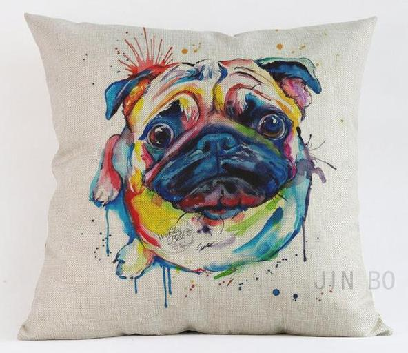 Pug Pillow - Way Up Gifts