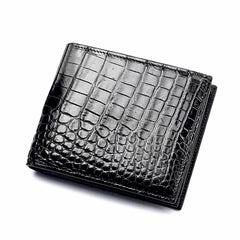 Handmade Genuine Crocodile Leather Wallet