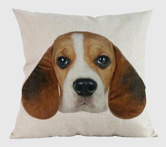 Beagle Pillow - Way Up Gifts