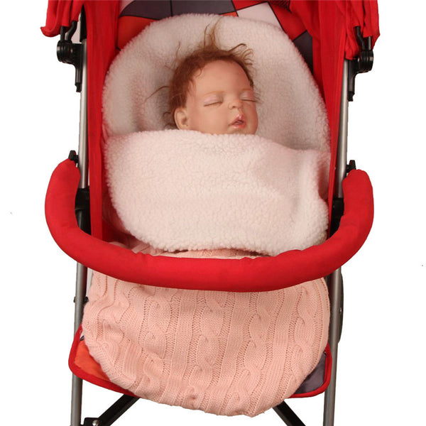 Thick Baby Swaddle / Sleeping Bag / Stroller Blanket