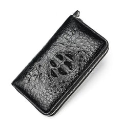Handmade Deluxe Businessman Crocodile Wallet