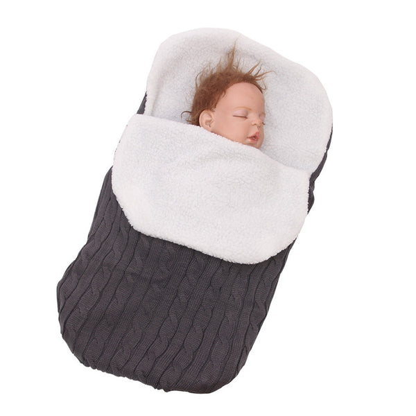 Thick Baby Swaddle | Sleeping Bag | Stroller Blanket